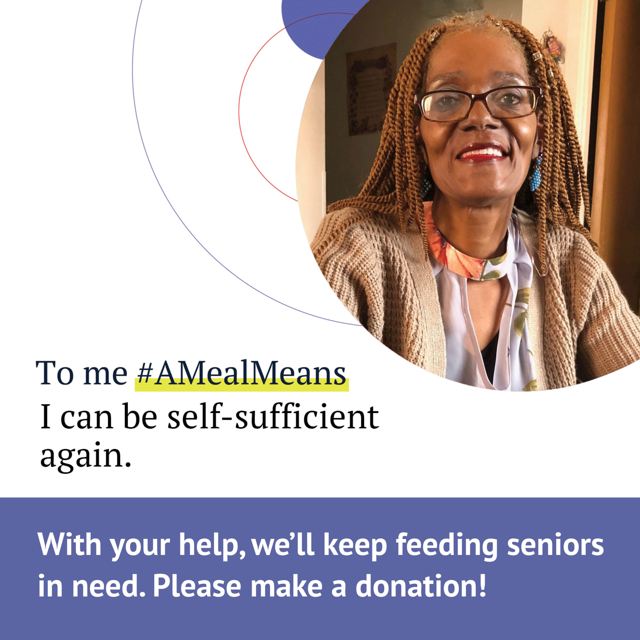 With your help, we'll keep feeding seniors in need. Please make a donation!